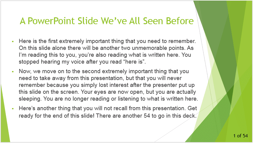 5 Ways Users Give PowerPoint Its Bad Rap 2