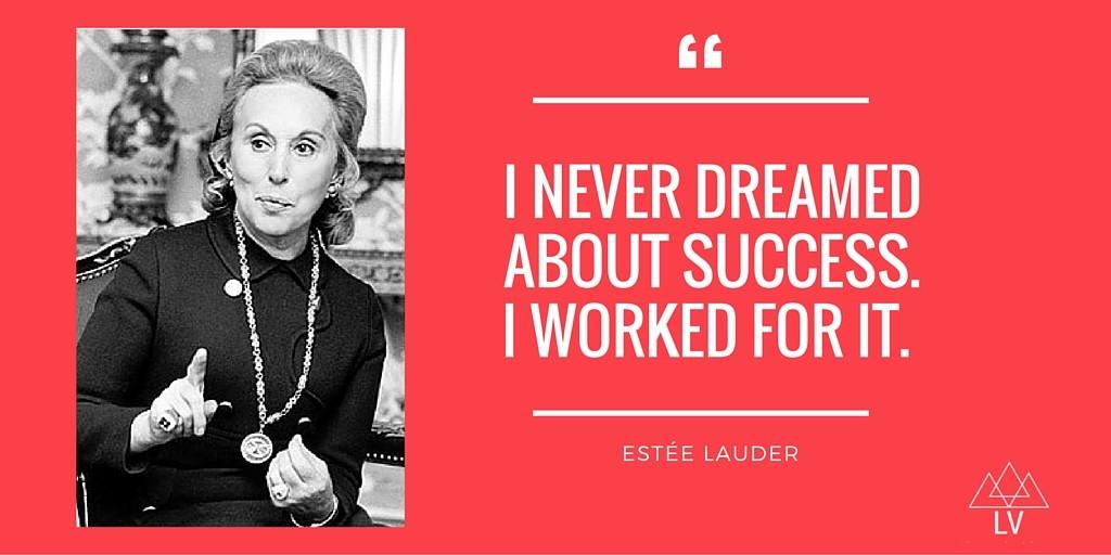 Estée Lauder, Businesswoman