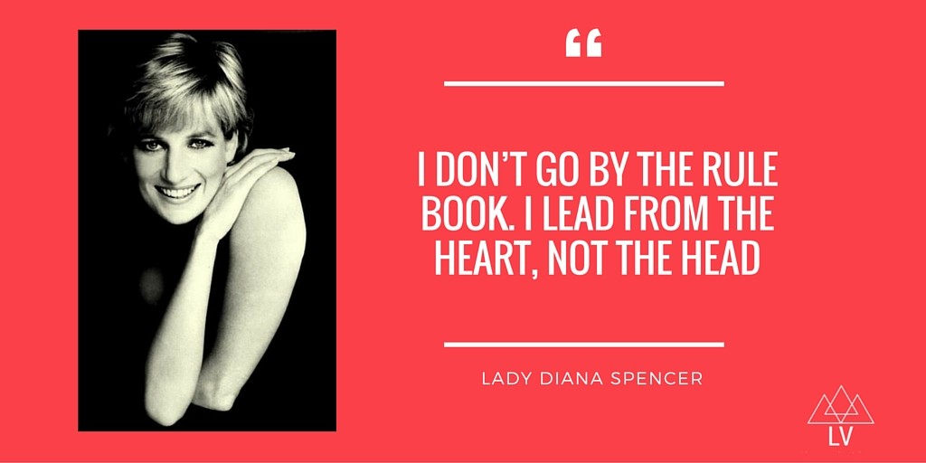 Lady Diana Spencer, Humanitarian